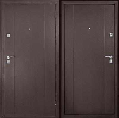 Дверь Форпост 72 металл металл, цена 12 850 руб   Купить в интернет-магазине  в Екатеринбурге