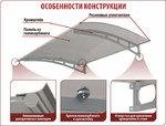 Козырек Хрусталь, цена 5,000 руб | Купить в интернет-магазине  в Екатеринбурге