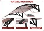 Козырек Алмаз, цена 4,100 руб | Купить в интернет-магазине  в Екатеринбурге