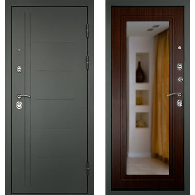 Входная дверь СИТИ-Z3К Венге, цена 21,990 руб | Купить в интернет-магазине  в Екатеринбурге