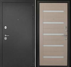 Дверь ДК Рубикон Царга  Капучино (белое стекло) , цена        18 800руб руб    , купить в интернет-магазине