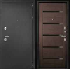 Дверь ДК Рубикон Царга  Венге (чёрное стекло) , цена        18 800руб руб    , купить в интернет-магазине