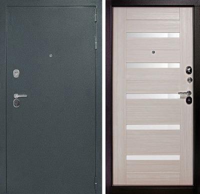 Дверь ДК Гарант  Царга   Лиственница белёная (белое стекло) , цена 15,900 руб | Купить в интернет-магазине  в Екатеринбурге
