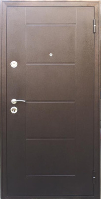 Дверь  Квадро 2 металл металл, цена 13 600 руб | Купить в интернет-магазине  в Екатеринбурге