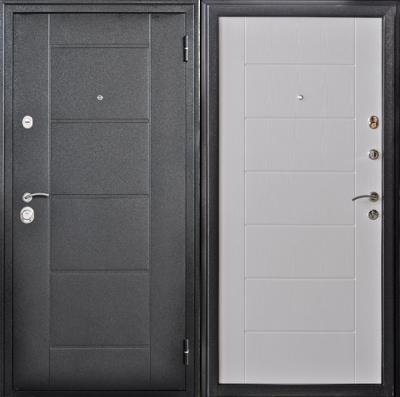 Дверь  Квадро 2 Беленый дуб, цена 17 990 руб | Купить в интернет-магазине  в Екатеринбурге