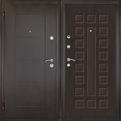 Дверь  Квадро Венге, цена 12 500 руб   Купить в интернет-магазине  в Екатеринбурге