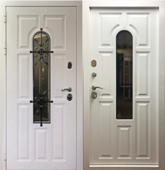 Входная дверь Лион Белый, цена        48 100руб руб    , купить в интернет-магазине