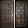 Входная дверь Порта Темный орех купить в Интернет-магазине