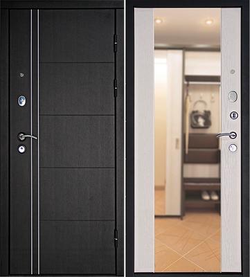 Входная дверь Теплолюкс Зеркало Беленый дуб, цена 26 990 руб | Купить в интернет-магазине  в Екатеринбурге