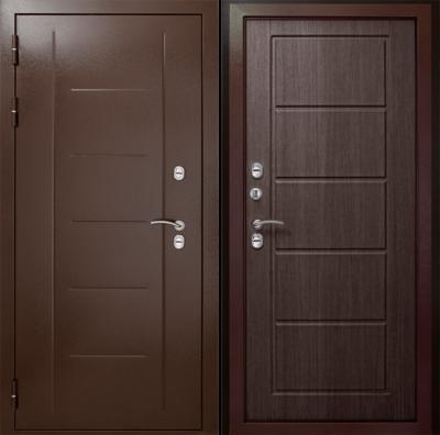 Входная дверь Термаль Экстра Венге, цена 31 100 руб   Купить в интернет-магазине  в Екатеринбурге